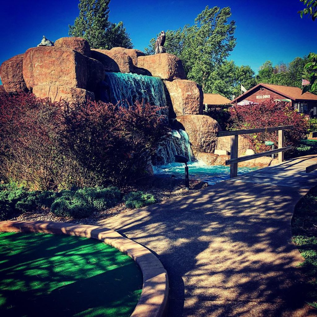 Big Don's Wild River Miniature Golf Course. Photo by Michael Aaron Gallagher.