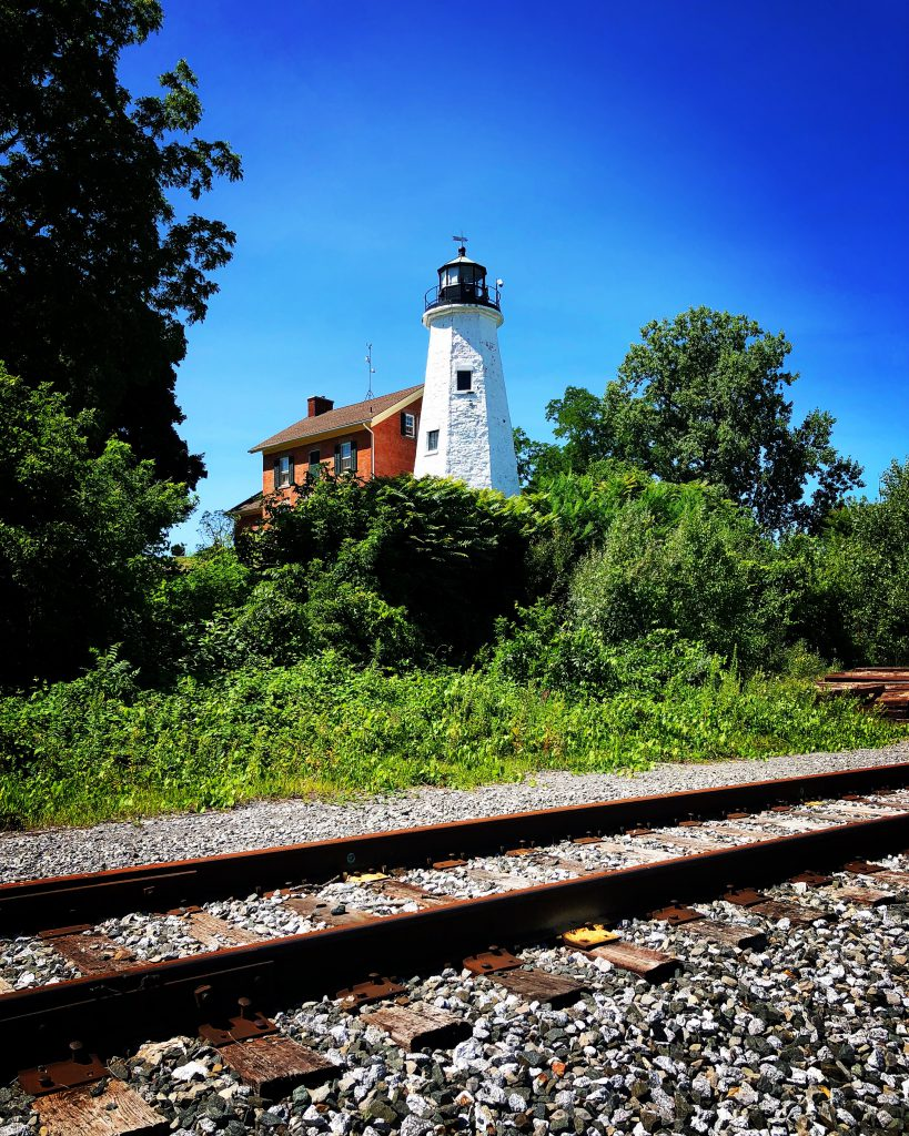 Charlotte-Genesee Lighthouse in Rochester, New York. Photo by Michael Aaron Gallagher.