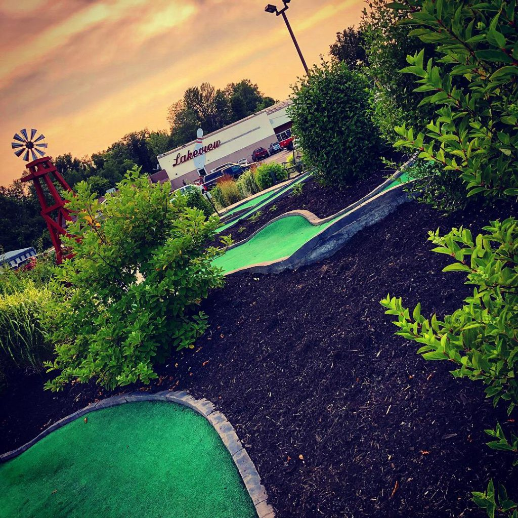Lakeview Lanes Miniature Golf Course in Fulton, New York.