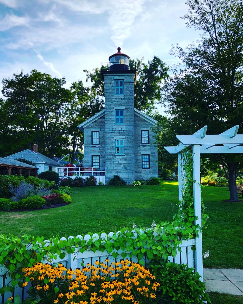 Sodus Bay Lighthouse in Sodus Point, New York. Photo by Michael Aaron Gallagher.