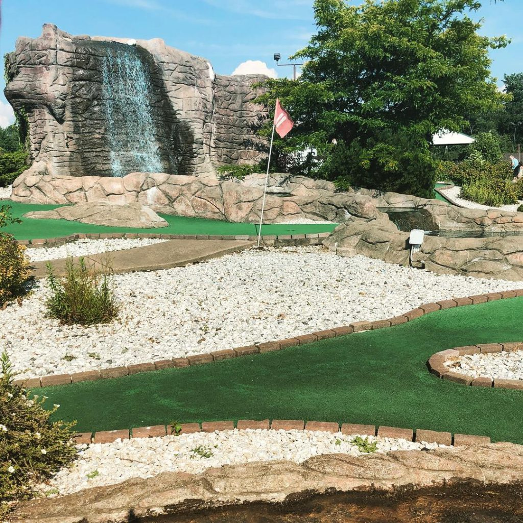 Try R Karts Miniature Golf Course. Photo by Michael Aaron Gallagher.