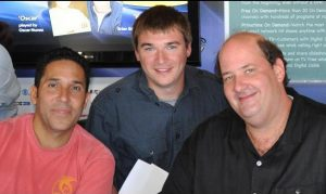 Michael Aaron Gallagher and Oscar Nunez and Brian Baumgartner Exclusive