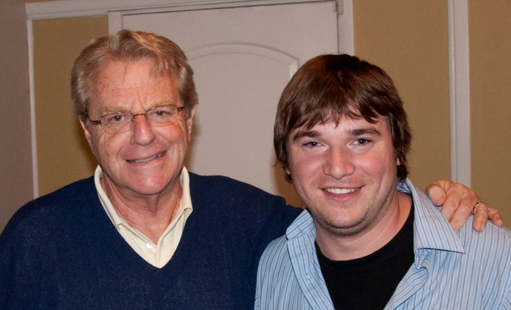 Michael Aaron Gallagher and Jerry Springer