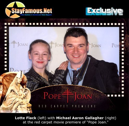 Lotte Flack and Michael Aaron Gallagher