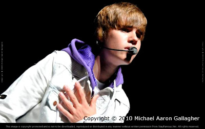 Justin Bieber by Michael Aaron Gallagher