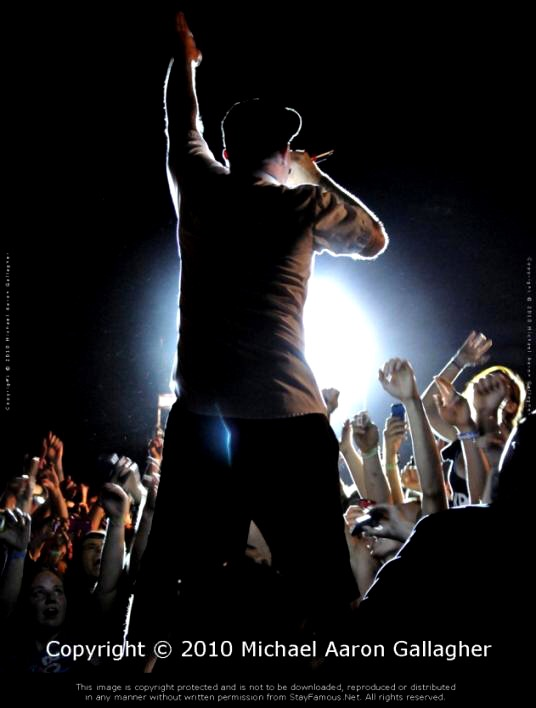 Fred Durst of Limp Bizkit Photograph by Michael Aaron Gallagher