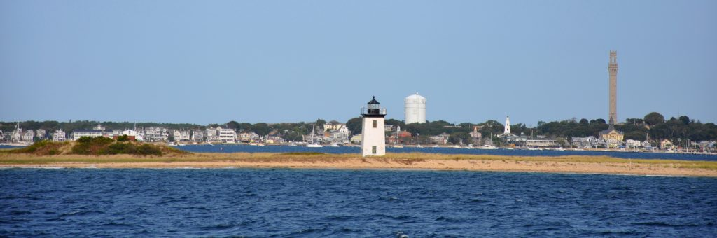 Long Point Lighthouse in Provincetown Massachusetts