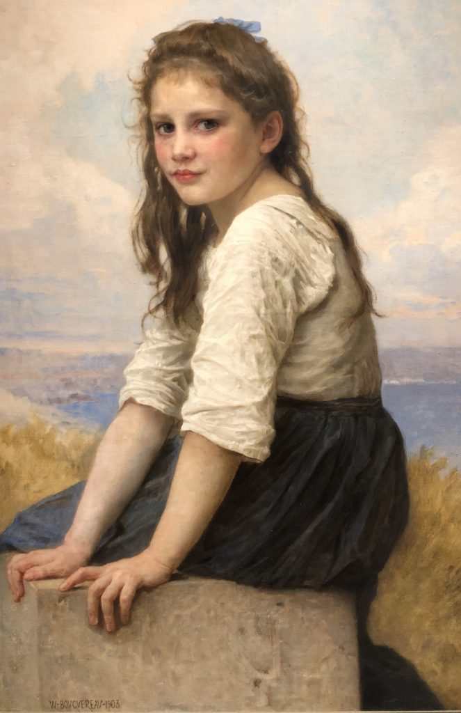 By the Sea by William-Adolphe Bouguereau