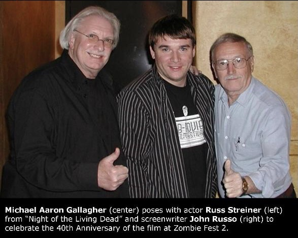 Michael Aaron Gallagher and Russ Streiner and John Russo